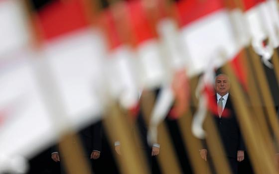 O presidente Michel Temer  (Foto:  Ueslei Marcelino/REUTERS)