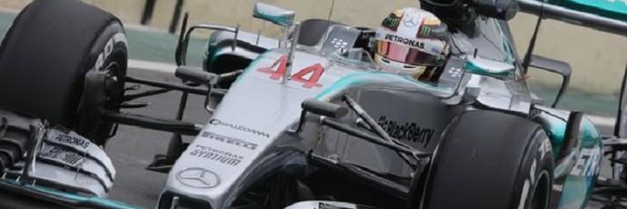 Lewis Hamilton dominou 1º treino livre para o GP do Brasil em Interlagos (Foto: Divulgação)