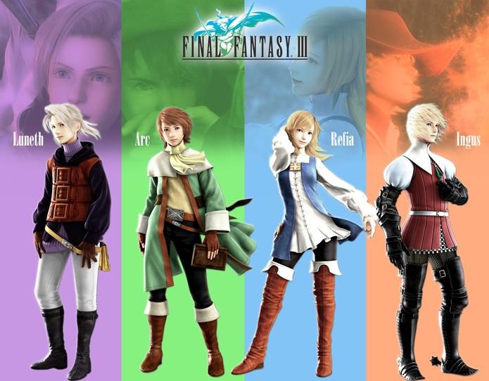Final Fantasy 3 - 2 (Foto: Divulgação)