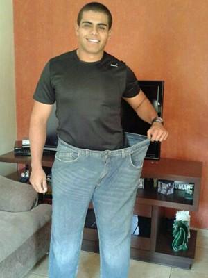 Jorge perdeu 48 kg e saiu do número 54 de calça para o 44 (Foto: Arquivo pessoal/Jorge Henrique Reis Xavier)