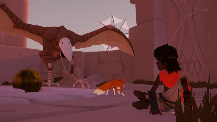 RiME: pequeno herói deve encarar quebra-cabeças ao lado de sua raposa  (Foto: Victor Teixeira/TechTudo)
