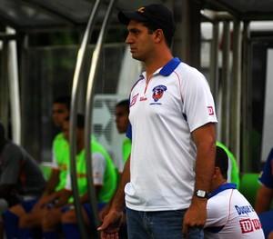 Eduardo Allax, técnico do Duque de Caxias (Foto: Carlos Junior/Futrio)