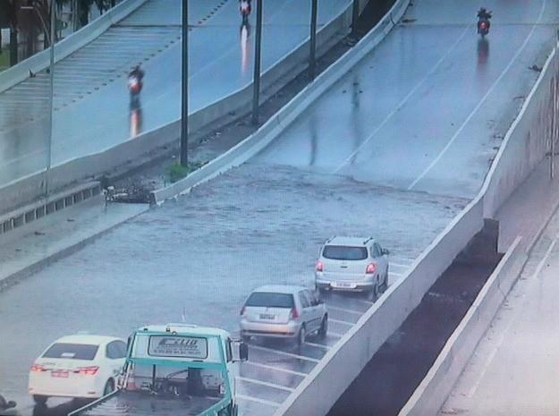 Avenida Raul BArbosa (Foto: TV Verdes Mares/Reprodução)