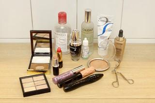 Produtos usados por Carlos Cesário (Foto: Celso Tavares/EGO)