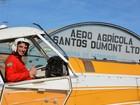 Situação do piloto do avião que caiu em fazenda de GO é regular, diz Anac