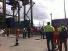 Estivadores do Porto de Santos ocupam navio em terminal da Libra