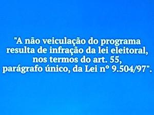 Programa de Dilma foi reduzido por decisão TSE