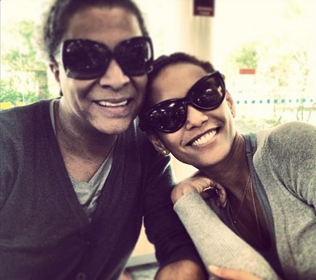 Silvetty Montilla e Taís Araújo (Foto: Reprodução/Instagram)