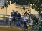 Geraldo Alckmin chega ao IML, na Zona Oeste de SP