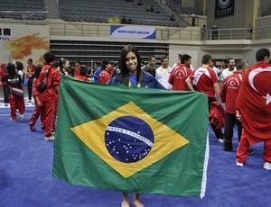 Brenda Santos, atleta de Kung Fu de Mato Grosso (Foto: Divulgação)