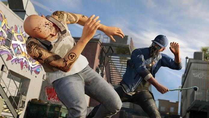 Marcus pode ser furtivo ou atacar diretamente, a escolha é sua (Foto: Divulgação/Ubisoft)