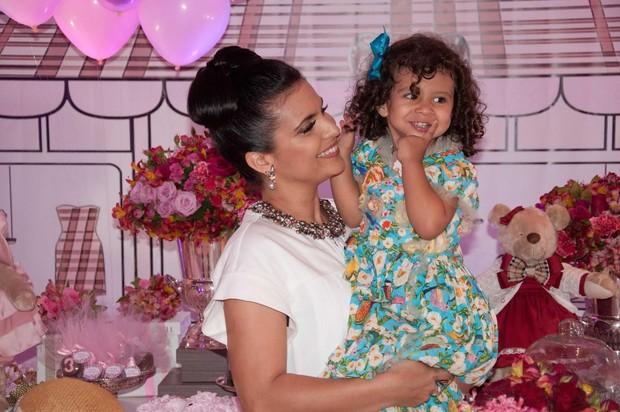 3e8c37acf2 EGO - Aline Barros comemora aniversário de três anos da filha Maria ...