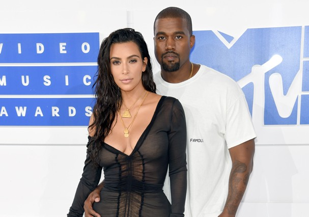 Kim Kardashian e Kanye West esperam terceiro filho (Foto: Getty Images)