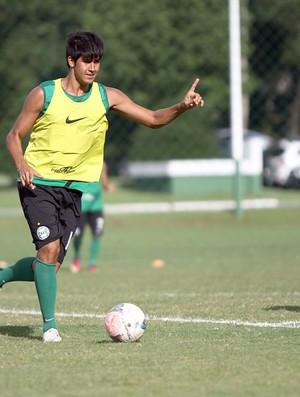 Leandro Almeida durante o treino do Coritiba (Foto: Divulgação / Site oficial do Coritiba)