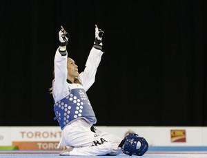Iris Sing Silva taekwondo bronze Pan Toronto 2015