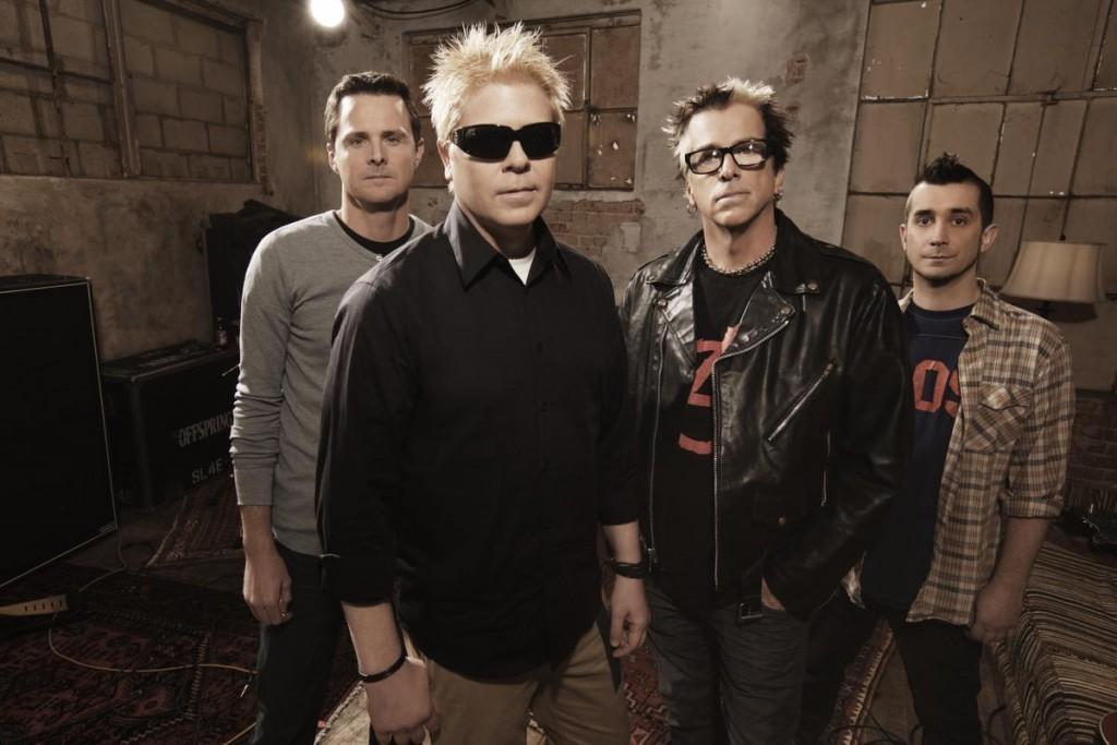The Offspring  mais uma atrao confirmada para o dia 24 de setembro, no Palco Mundo (Foto: Divulgao)