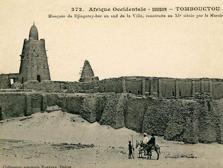 Mesquita de Djinguereber, no Mali (Foto: Wikimedia Commons)