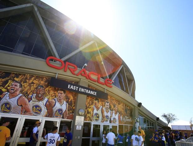 Oracle Arena - Golden State x Cleveland - jogo 1 finais nba