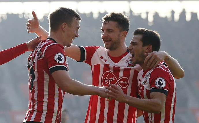 Southampton x Leicester (Foto: Reuters)
