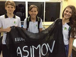Equipe ASIMOV, do campus Colatina (Foto: Divulgação/Ifes)
