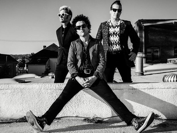 O Green Day é formado por Mike Dirnt, Billie Joe Armstrong e Tré Cool (Foto: Divulgação)