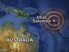Tsunami após forte terremoto no Pacífico Sul mata 5, dizem agências