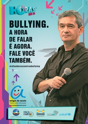 cartaz altas horas contra o bullying