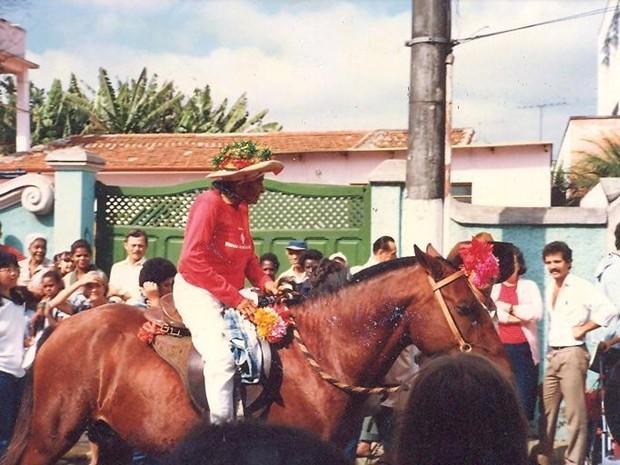 """Nhá Zefa, de Mogi das Cruzes (Foto: Acervo do Arquivo Histórico de Mogi das Cruzes """"Historiador Isaac Grinberg"""")"""