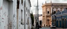 Empresários e prefeitura tentam revitalizar bairro histórico de Jaraguá (Jonathan Lins/G1)