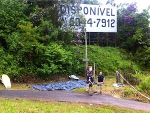 acidente ônibus régis bittencourt (Foto: Giovana Sanchez/G1)