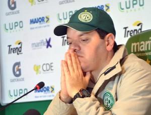 Tarcísio Pugliese técnico Guarani (Foto: Murilo Borges)