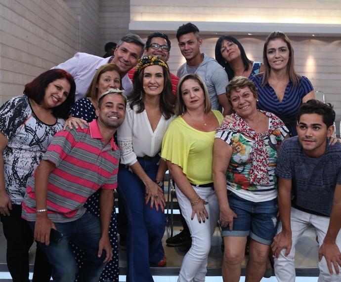 Mais plateia com a Fátima  (Foto: Fabiano Battaglin/Gshow)