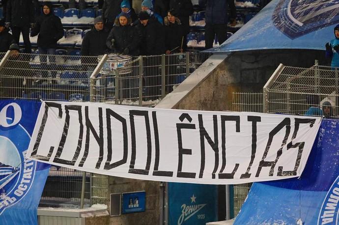Condolências - Zenit (Foto: Reprodução/Instagram)