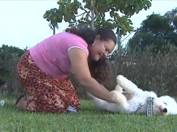 Babá de animais no Acre (Foto: Reprodução / TV Acre)