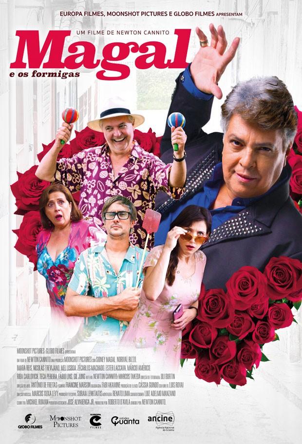 Poster do filme 'Magal e os Formigas' (Foto: Divulgação)