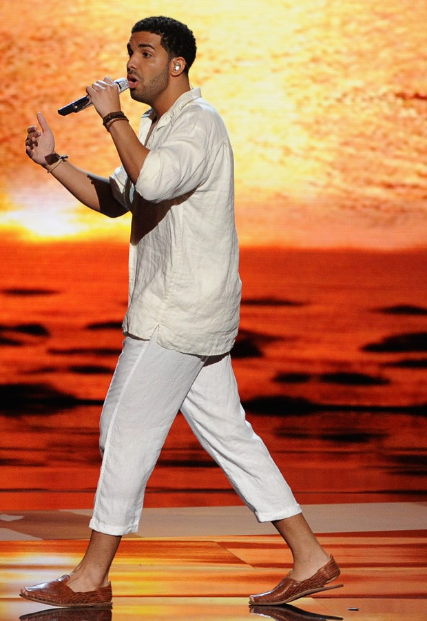 Drake durante os ESPY'S (Foto: Getty Images)