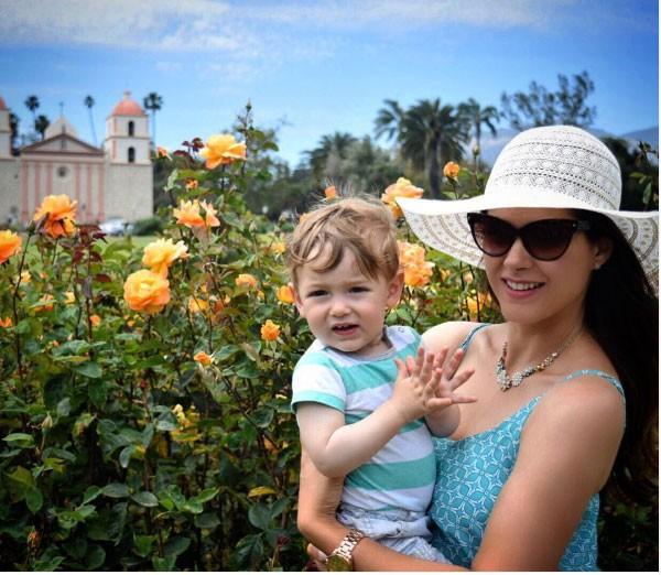 Fernanda Machado e Lucca prontos para o verão (Foto: Reprodução - Instagram)