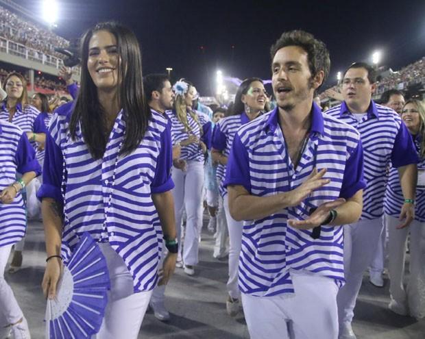 Antonia Morais e namorado, Wagner Santisteban (Foto: AGnews)