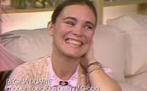 Participação de Regina Duarte no TV Mulher nos anos 1980