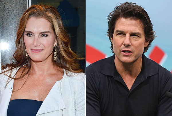 Brooke Shields e Tom Cruise (Foto: Getty Images)