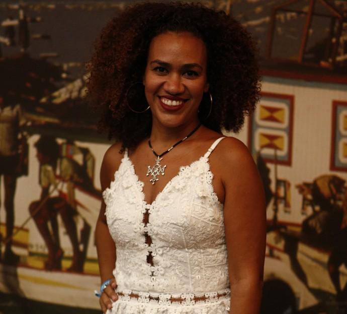 A também cantora Marienne de Castro vai interpretar Dalva em 'Velho Chico' (Foto: Inacio Moraes/ Gshow)