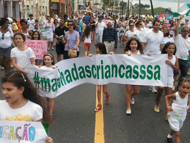 Crianças (Foto: Andrea Machado / Arquivo Pessoal)