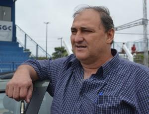 Presidente do Vilhena, Carlos Dalanhol (Foto: Hugo Crippa)