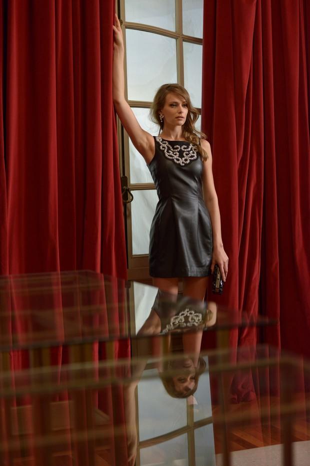 Regina Krilow posa para a C&A (Foto: Luciana Prezia / Divulgação)