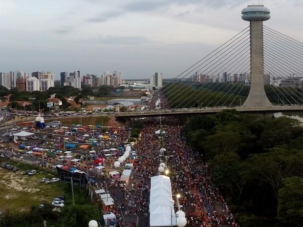 Corso de Teresina é considerado o maior do mundo pelo Guinness Book (Foto: Magno Bonfim/TV Clube)