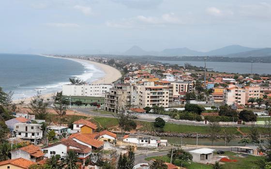 Vista de Maricá (Foto:  FELIPE VARANDA/ÉPOCA)