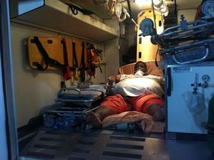 obeso amélia rodrigues; bahia; hospital geral do estado (Foto: Egi Santana/G1)