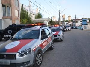Assalto aconteceu em shopping localizado ao lado do Disp, em João Pessoa (Foto: Walter Paparazzo/G1)