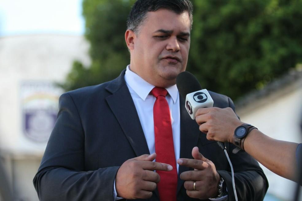 Delegado Joselito do Amaral é o chefe da Polícia Civil de Pernambuco (Foto: Marlon Costa/Pernambuco Press)