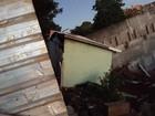 Nove residências são interditadas em Botucatu após casa desmoronar